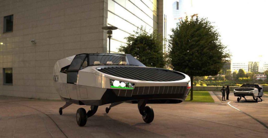 CityHawk flying vehicle