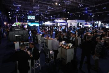 The scene at Cybertech 2020. Courtesy.