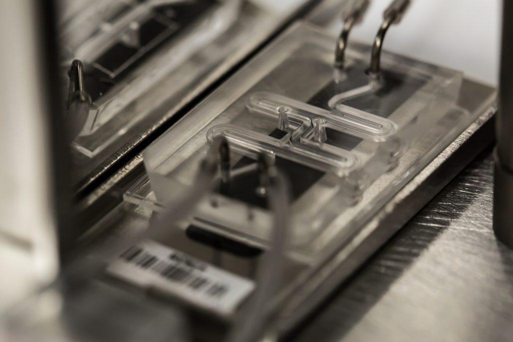 Gut-on-a-chip interrogator. Photo: Wyss Institute at Harvard University