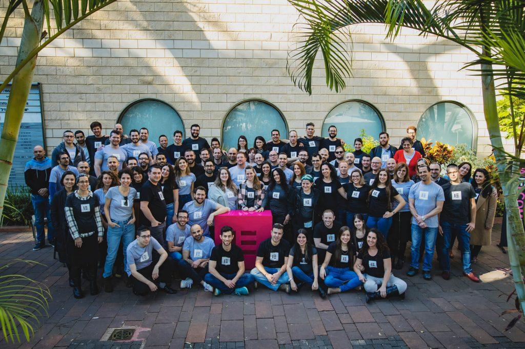 The Elementor team, Tel Aviv. Courtesy