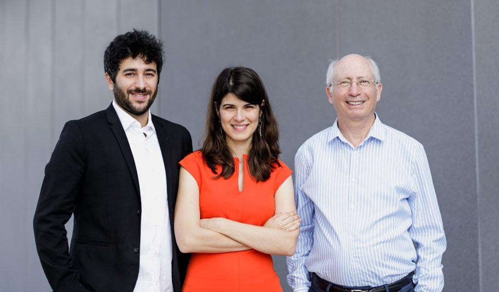 Diagnostic Robotics founders from left to right: Yonatan Amir, Dr. Kira Radinsky, and Professor Moshe Shoham. Courtesy