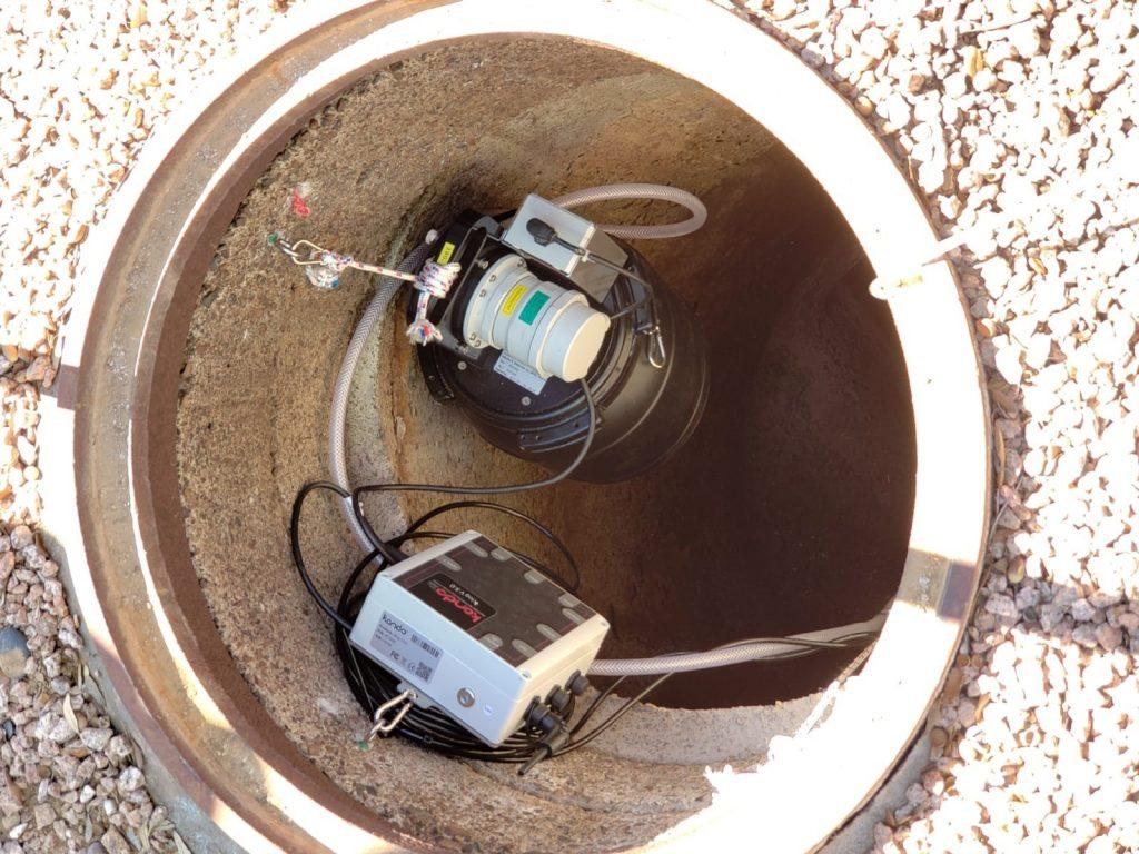IoT hardware developed by Kando to manage wastewater. Courtesy