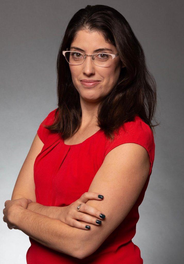 Hilla Haddad Hamelnik, head of Netivei Israel's Innovation and Strategy division. Courtesy