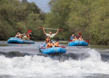 Kayaking in Kfar Blum. Photo: Yossi Aloni
