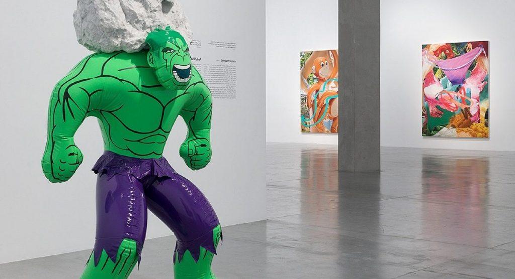 Jeff Koons exhibit