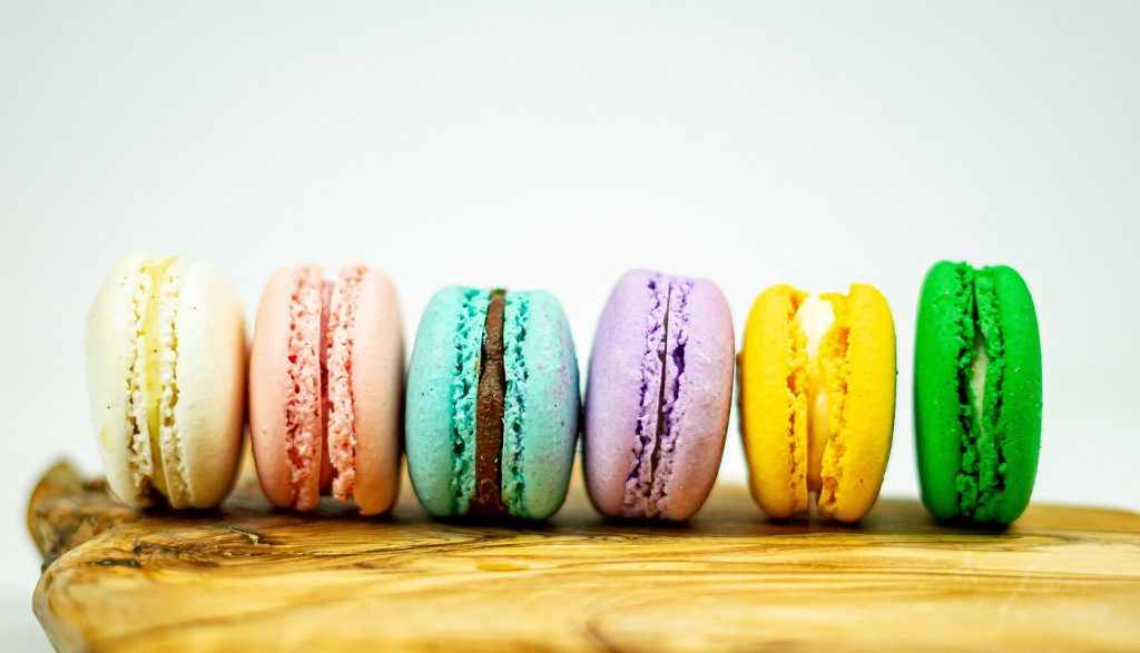 Macaroons. Photo by Chris Hardy on Unsplash