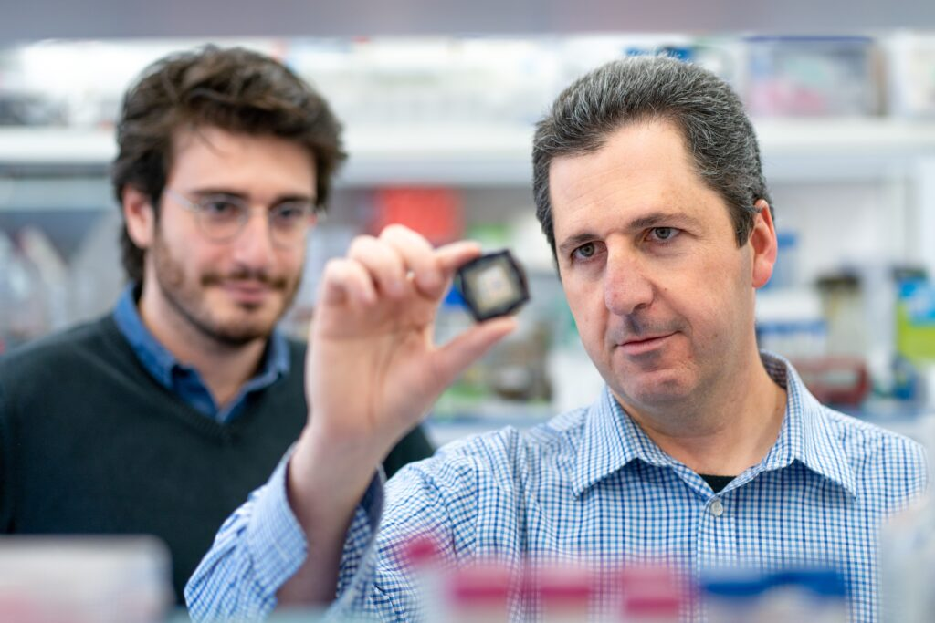 Hebrew University Professor Yaakov Nahmias conducted research on COVID-19 with an existing cholesterol drug. Photo: Daniel Hanoch