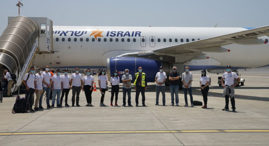 An Israeli delegation heads to India to test rapid coronavirus diagnostics kits as part of a research partnerships. Photo: Defense Ministry