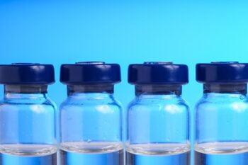 Kamada developed a plasma-derived antibody treatment for COVID-19. Illustrative picture of vials. Deposit Photos