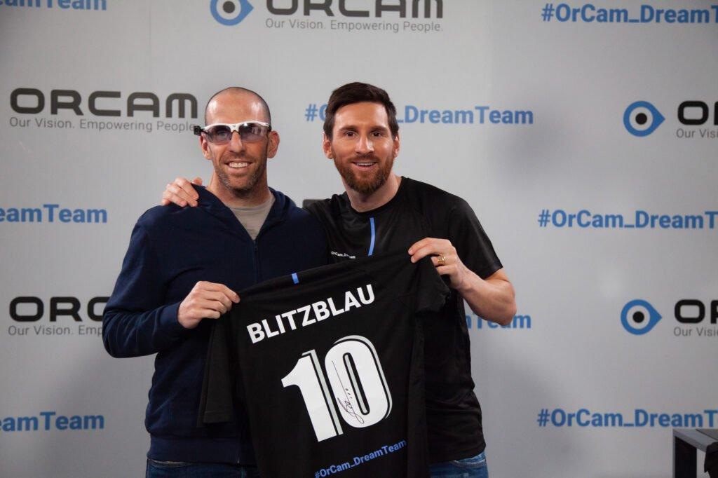 Oren Blitzblau, Leo Messi for OrCam