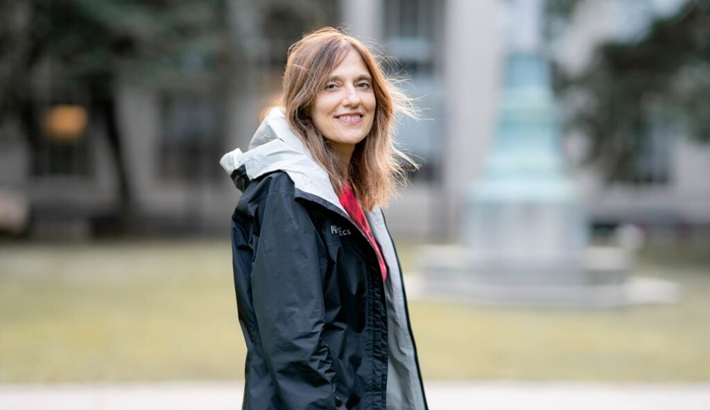 Israeli-born professor Regina Barzilay of MIT's Computer Science and Artificial Intelligence Laboratory won a $1 million award by the Association for the Advancement of Artificial Intelligence (AAAI) for her work using AI to diagnose cancer and develop antibiotics. Photo: MIT CSAIL