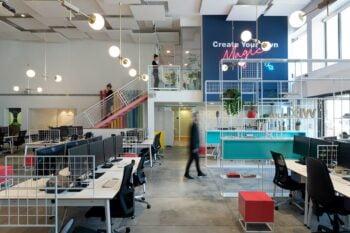 Wix's offices in Tel Aviv. Courtesy