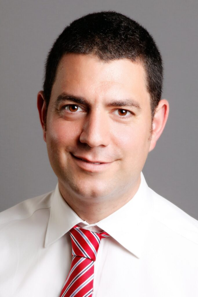Dr. Avi Tsur, attending physician at the high risk antepartum department and at the OBGYN imaging unit, and the director of the Women's Health Innovation Center at Sheba Medical Center. Photo: Courtesy