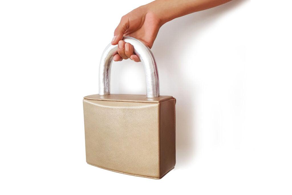 Kobi Levi Lock Down handbag