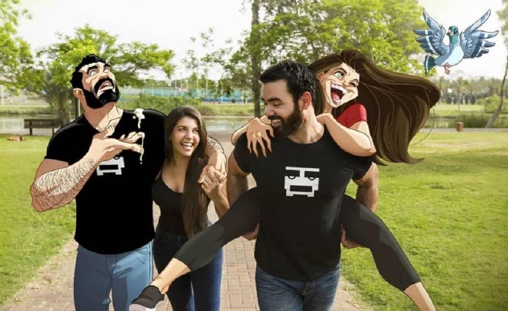 Comic artists Yehuda and Maya Devir