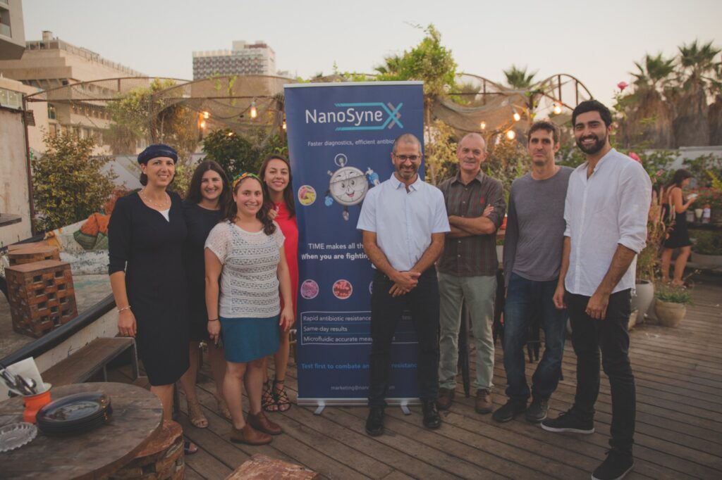 The Nanosynex team. Courtesy