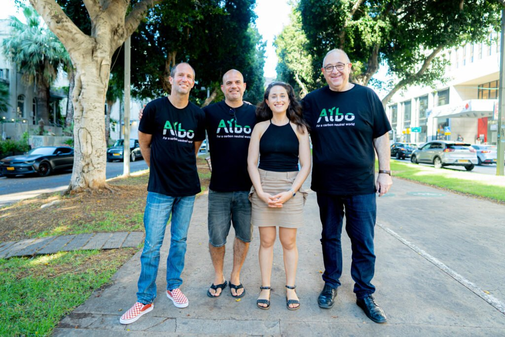 The Albo Systems team. Photo: Hanna Taieb