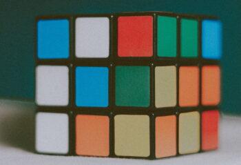 Rubik's cube. Photo by Mathias P.R. Reding from Pexels