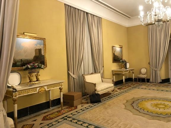 Aura Air's purification system is installed in the King of Spain's Zarzuela Palace, the residence and working offices of the reigning monarch, Felipe VI, on the outskirts of Madrid. Photo: Aura Air