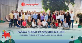 Papaya Global joined the unicorn club with a new $100 million investment in March 2021. Photo: Papaya Global