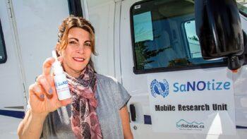 Dr. Gilly Regev, co-founder of SaNOtize. Courtesy