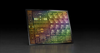 Nvidia's BlueField-3 DPU. Photo courtesy of Nvidia