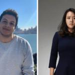 Deel co-founders Alex Bouaziz and Shuo Wang. Courtesy