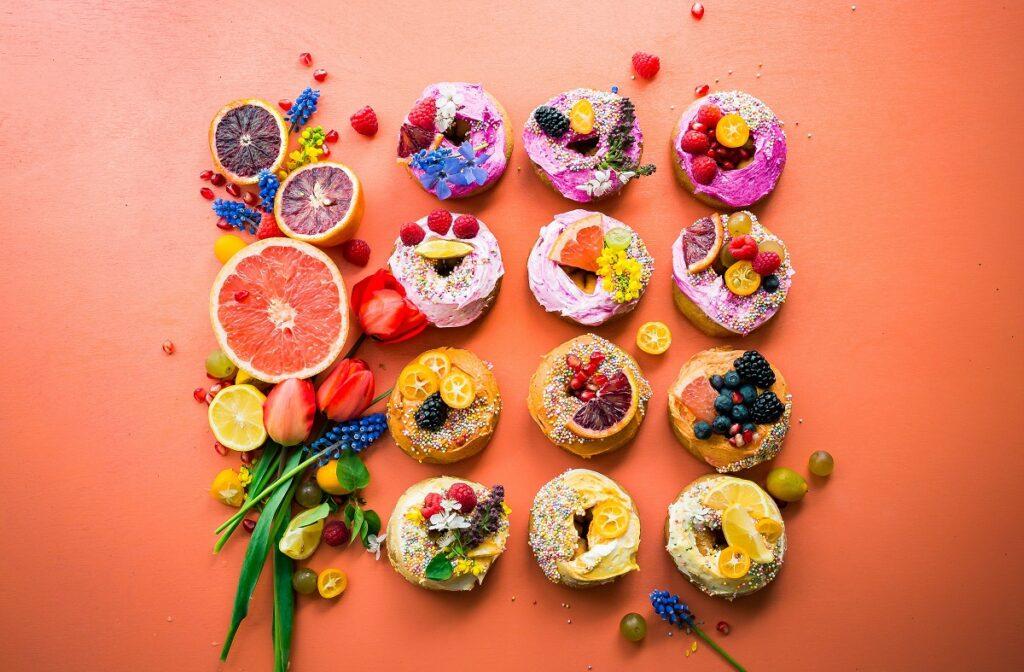 Sweet desserts. Photo by Brooke Lark on Unsplash