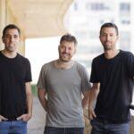 Bookaway founders David Yitzhaki, CMO, Noam Toister, CEO, and Omer Chehmer, COO. Courtesy