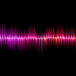 Sound waves. Illustrative. Image by pixabay