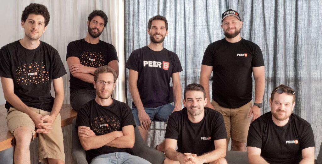 The Peer5 team. Photo via Peer5, CC BY-SA 4.0